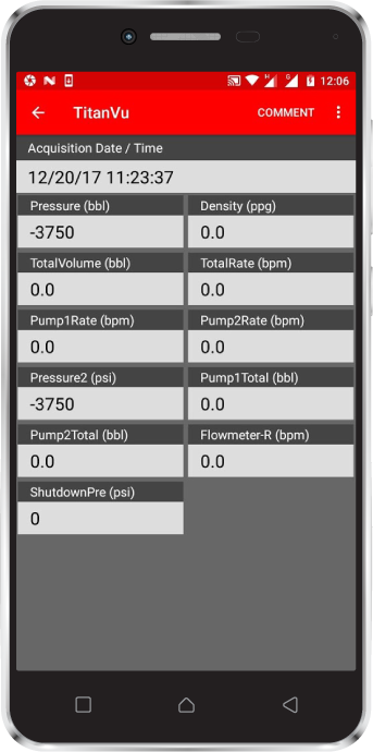TitanVu Oilfield Monitoring Software for Android